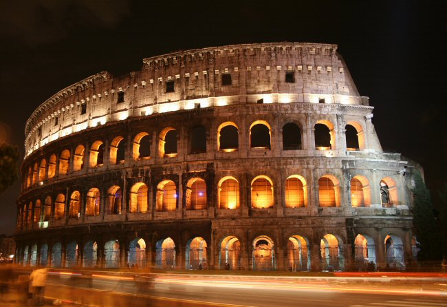 Colosseo di notte - nachts
